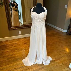 Nude Bridesmaids dress